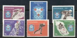 Panama 1967 Winter Olympics Grenoble MUH - Panama