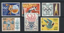 Qatar 1968 Summer Olympics Mexico City MUH - Qatar