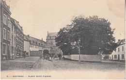 Bastogne - Place Saint-Pierre - Animé - Phot. H. Bertels, Bruxelles N° 5 - Bastogne
