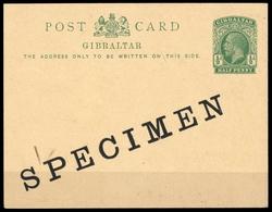 1912, Gibraltar, P 29 SP, Brief - Gibraltar