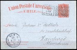 1898, Chile, P 22, Brief - Chile