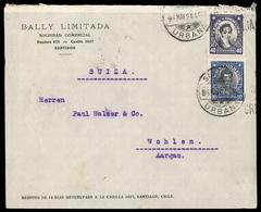 1915, Chile, 127, 122, Brief - Chile