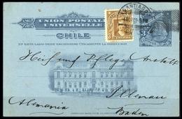 1905, Chile, 66 U.a., Brief - Chile