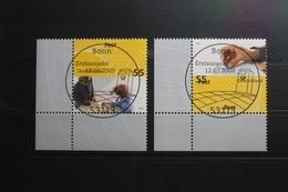 BRD 2723-2724 Gestempelt Post Eckrand Vollstempel Bundesrepublik #SI793 - Sin Clasificación