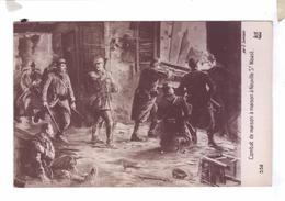 Guerre 14 Illustration Combat De Maison A Maison Neuville St Waast E Samson Galerie Patriotique Noyer - Guerre 1914-18
