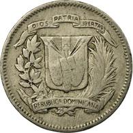 Monnaie, Dominican Republic, 10 Centavos, 1967, TB+, Copper-nickel, KM:19a - Dominicana