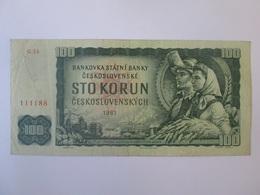 Czechoslovakia 100 Korun 1961 Banknote - Tchécoslovaquie