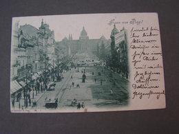 Prag 1899 Nach Wechselburg - Tschechische Republik
