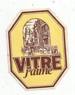 Autocollant , Grand Modéle , 160 X 120, VITRE J'AIME , Vitré , Ille Et Vilaine ,35,.,frais Fr 2.00 E - Autocollants