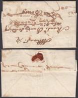 FRANCE 1687 DE DIJON VERS BOURG (DD) DC-2294 - Marcophilie (Lettres)
