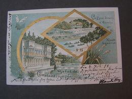 Constantinopel , 1898 Nach Kassel - Türkei