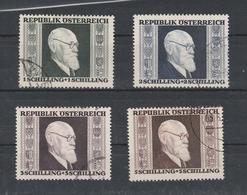 Renner Mi. Nr. 772 - 775 Gestempelt - 1945-60 Gebraucht
