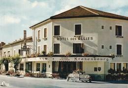 01 - Carte Postale Semi Moderne De PONT D'AIN    HOTEL DES ALLIES - Other Municipalities