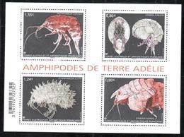 TAAF - 2017 - BF Amphipodes De Terre Adélie ** - Blocks & Sheetlets
