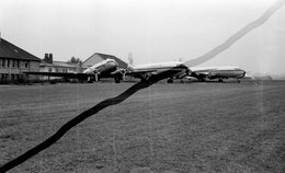 Négatif Aviation Avion Douglas C47 & Dc 6 Aeromaritime   Cu 131 - Aviation