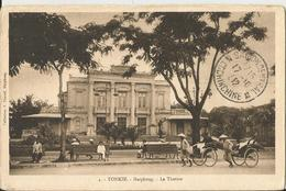 TONKIN LE THEATRE - VIAGGIATA 1932 (1509) - Vietnam