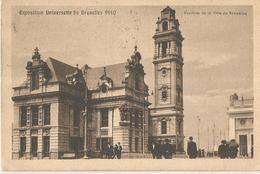 EXPOSITION UNIVERSELLE DE BRUXELLE 1910 - VIAGGIATA 1910   (1510) - Esposizioni