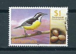 2001 Bahamas Birds,oiseaux,vögel $1 Used/gebruikt/oblitere - Bahama's (1973-...)