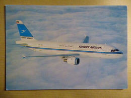 KUWAIT AIRWAYS   AIRBUS A 320  AIRLINE ISSUE / CARTE COMPAGNIE - 1946-....: Era Moderna