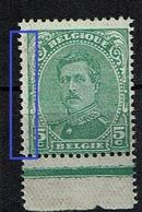137B  **  Bdf  Points Verts Marge Gauche - 1915-1920 Albert I