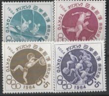 1964 -MNH MINIATURE SHEET -TOKYO OLY 1964/JAPAN - Summer 1964: Tokyo