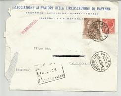 BUSTA INTESTATA: ASSOCIAZIONE ALLEVATORI DELLA CIRCOSCRIZIONE DI RAVENNA  (1515) - Vecchi Documenti