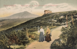 AK- Tschechien - RIESENGEBIRGE - Zwei Wanderfrauen Bei Der Prinz-Heinrichsbaude 1906 - Tschechische Republik