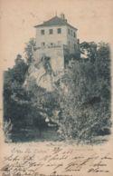 "AK - Tschechien - Gruss Aus LIEBEN (Chlum) - ""Zum Verlorenen Posten"" 1912 - Tschechische Republik"
