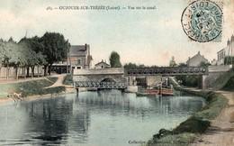 CPA  Batellerie - 45 - OUZOUER-SUR-TREZEE - Vue Sur Le Cabal - Frankreich