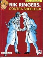 Rik Ringers Contra Sherlock  (1ste Druk Heruitgave) 1993 - Rik Ringers