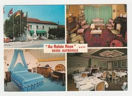 88 Autreville Vers Neufchâteau Hôtel Restaurant Au Relais Rose En 4 Vues N°1761 Piano VW Combi VOIR DOS - Neufchateau