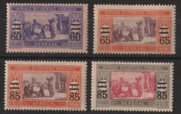 Sénégal - 1922-25 - N°Yv. 87 à 90 - Série Complète - Neuf Luxe ** / MNH / Postfrisch - Sénégal (1887-1944)