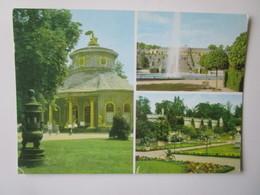 Potsdam. Sanssouci. Chinesisches Teehaus. Grosse Fontaine. Sizilianischer Garten - Potsdam