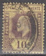 STRAITS SETTLEMENTS   SCOTT NO.  115     USED      YEAR  1904 - Straits Settlements