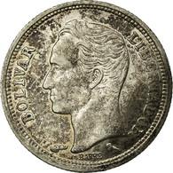 Monnaie, Venezuela, 25 Centimos, 1960, TB+, Argent, KM:35a - Venezuela