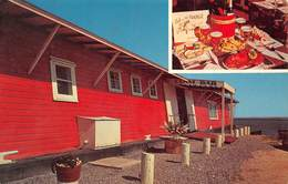 PIE-19-JMT1-1387 : THE SEAFOOD BARGE. ROUTE 25A. ON  PECONIC BAY. SOUTHOLD LONG ISLAND N. Y. - NY - New York
