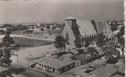 19 / 3 / 120  - BRAZZAVILLE  ( CONGO  )  LA  CATHÉDRALE  - C. P. S. M. Dos. - Divisé  Simple     Circulé -  Oui   Non - Brazzaville