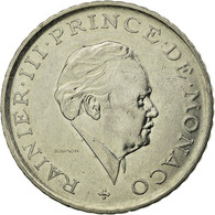 Monnaie, Monaco, Rainier III, 2 Francs, 1981, TB+, Nickel, Gadoury:MC151, KM:157 - Monaco