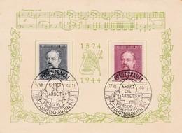 Böhmen Und Mähren Sammlerkarte Prag 1944 - Bohemia & Moravia