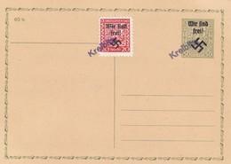 Böhmen Und Mähren Sammlerkarte Kreibitz  Sudeten 1938 - Bohemia & Moravia