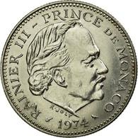 Monnaie, Monaco, Rainier III, 5 Francs, 1974, TTB, Copper-nickel, KM:150 - Monaco