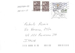 LETTERA X ITALY - Poststempel (Briefe)