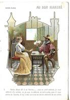 Carte Lithographie ROBIN Barbe Bleue / PARIS / Au Bon Marché / BOUCICAUT Expo Des Toilettes De Campagne Et Bains De Mer - Francia