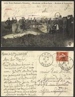 FRANCE--Ecole Nationale D'Aviation . Aerodrome De Bron-Lyon .--Accident De Legagneux - Bron