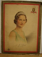 Liv. 329. Affiche De La Reine Astrid Offert Par Les Chocolats Jacques; - Affiches