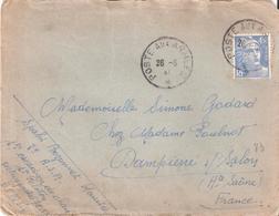 4.50f.Gandon Oblitéré POSTE AUX ARMEES De B.P.M.515 Pour BESANCON - Cachets Militaires A Partir De 1900 (hors Guerres)