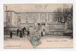 - CPA BONNEUIL EN FRANCE (95) - Le Château 1905 (avec Personnages) - Photo Breger - - France