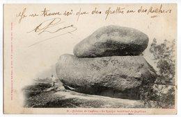CPA  81   SIDOBRE DE CASTRES  1902   LE ROCHER TREMBLANT DE SEPTFAUX - Dolmen & Menhirs