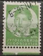KING PETER II-4 D-ERROR -RARE - YUGOSLAVIA - 1935 - 1931-1941 Kingdom Of Yugoslavia