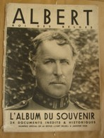 Liv. 324. Album Souvenir D'Albert Roi Des Belges. Janvier 1936. - 1900 - 1949